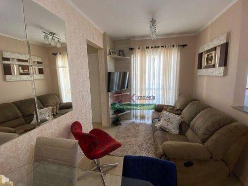 Imagem 1 de 17 de Apartamento Com 2 Dormitórios À Venda, 48 M² Por R$ 303.000 - Vila Palmares - Santo André/sp - Ap8619