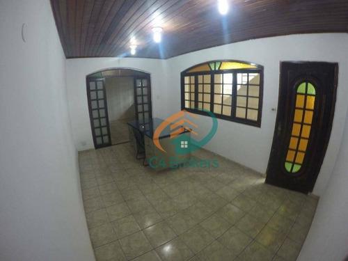 Imagem 1 de 23 de Sobrado Com 3 Dormitórios À Venda, 256 M² Por R$ 425.000,00 - Jardim Paraventi - Guarulhos/sp - So0134