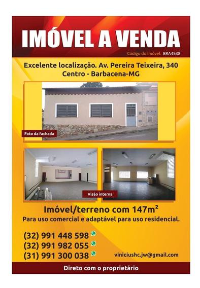 Imóvel No Centro De Barbacena
