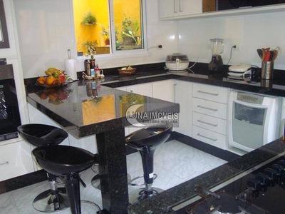 Sobrado Com 4 Dormitórios À Venda Por R$ 970.000 - Jardim Hollywood - São Bernardo Do Campo/sp - So0088