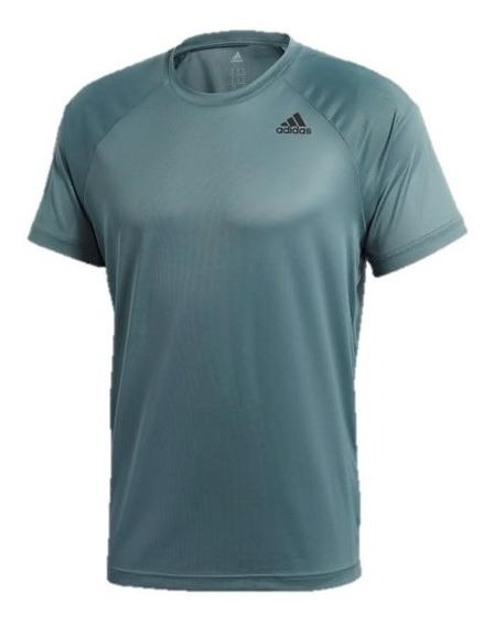 Camiseta adidas D2m Tee Pl Cz5298-hombre Original