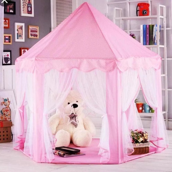 Tenda Cabana Barraca Castelo Infantil Princesas Noite Pijama