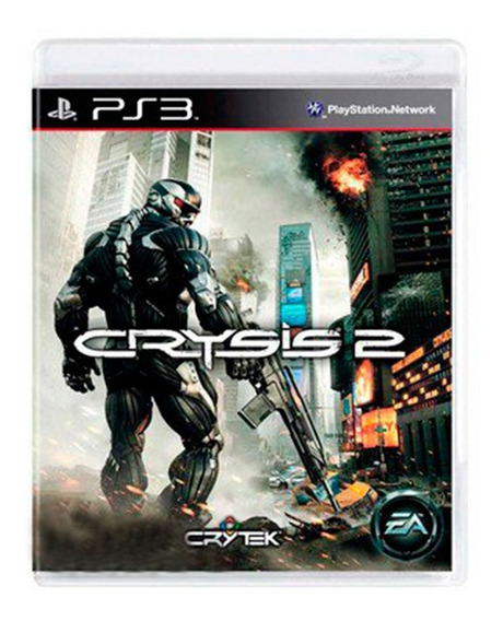 Game - Crysis 2 - Ps3