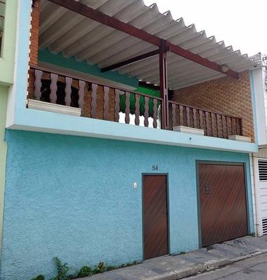 Casa Sobrado Com 2 Quartos Garagem E Varanda