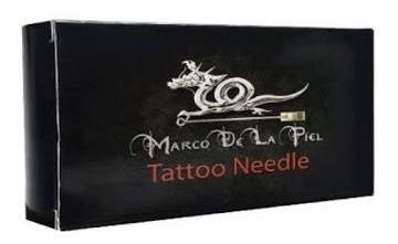 Caixa De Agulha 5rl Traço Marco Delapiel Tattoo + Brinde