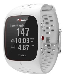 Relógio Polar M430 Com Gps E Monitor Cardíaco - Branco