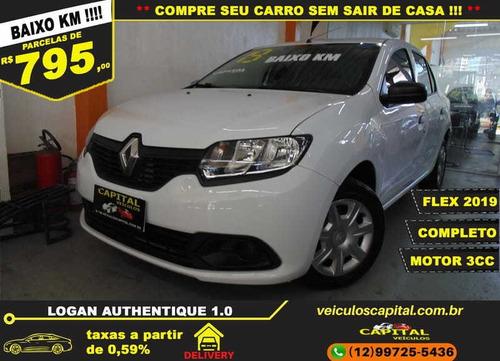 Imagem 1 de 11 de Renault Logan Authentique Flex 1.0 12v 4p