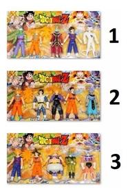 Brinquedo Dragon Ball Z Kit Com 5 Goku Promoção Menor Preço