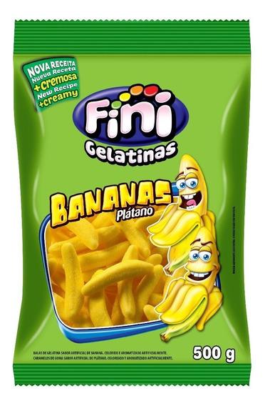 Gelatina Banana Fini X500g
