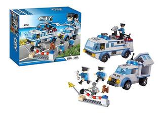 Lego City Squad Policias Juguetes Niños 368pcs Legos 4152