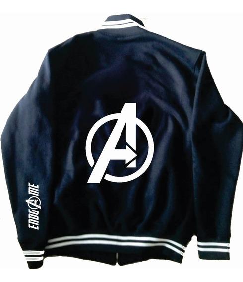 Chamarra Avengers Tipo Universitaria Deluxe Endgame Mod 1
