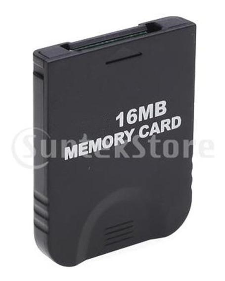 Cartão De Memória De 16 Mb Para Nintendo Wii Gamecube Gc