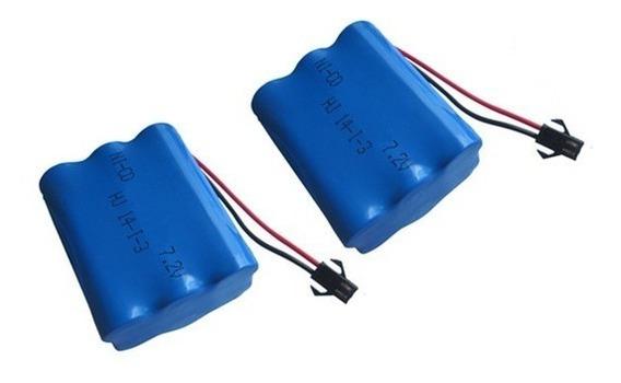 Bateria Para Carrinho 7,2v Aa 2700mah Ni-mh Smp02 - Oferta