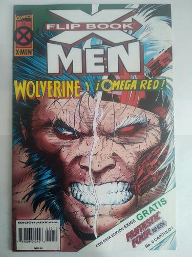 X-men Flip Book 12 Marvel Mexico Intermex