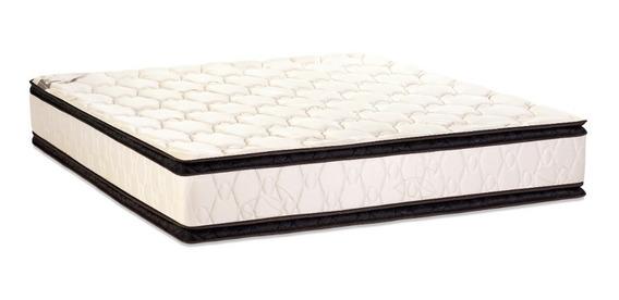 Colchon 180x200 Kingsize Alta Densidad Doble Pillow Envio S/c 18 Cuotas Sin Interes !!