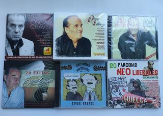 Oscar Chavez Paquete De 6 Discos