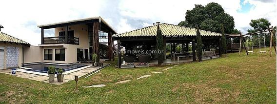 Vende Casa Em Condomínio Fechado Panamby - Chapada. 3 Suítes, Lareira, - 10860
