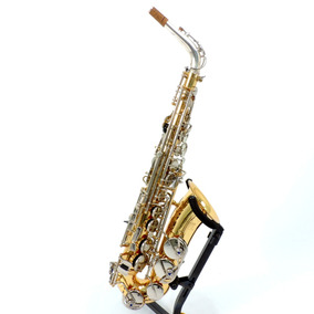 Sax Alto Jupiter Capital Edition Tudel Prata Maciça Case