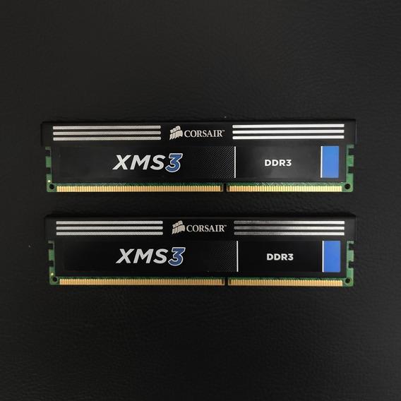 8gb Memória Ram Gamer Corsair (2x 4gb 1600 Mhz)