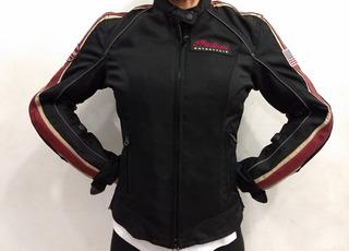 Chamarra Chaqueta Indian Motorcycle Para Mujer Talla S