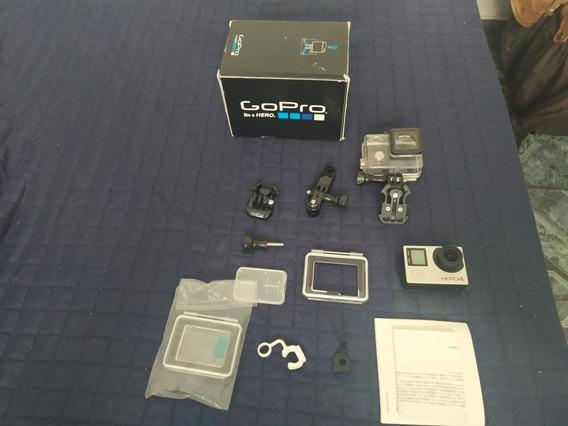 Go Pro Hero 4 Silver,novinha+cartão De 32gb