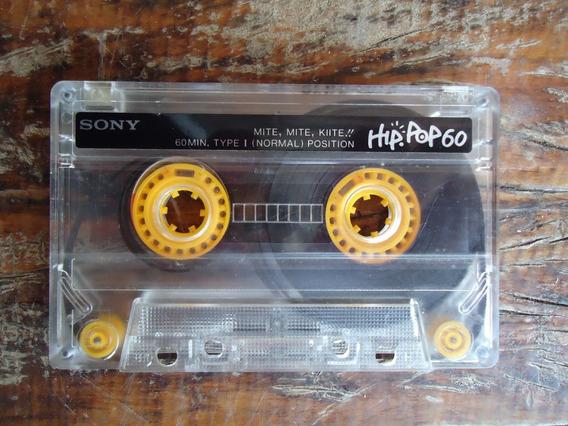 Fita K7 Sony Hip Pop 60 Ano 1988 Unica No Mercado Livre