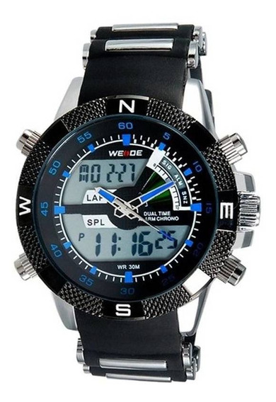 Relógio Masculino Analógico Digital Esportivo Weide Top