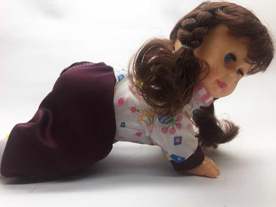 Brinquedo Boneca Que Engatinha Dança E Fala 13 Frases