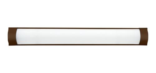 Luminaria Linear Sl1070133 Fina 36w 6000k Marrom Skylux