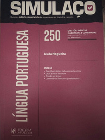 Simulaço - Língua Portuguesa 250 Questões Inéditas