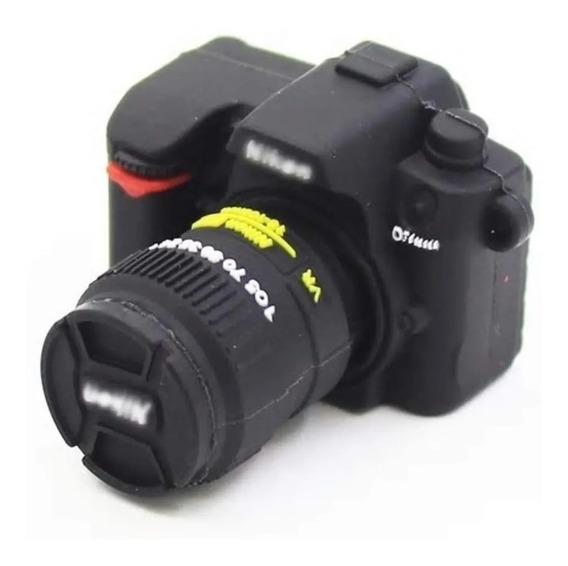 Pendrive Câmera Fotográfica - Borracha 4 G