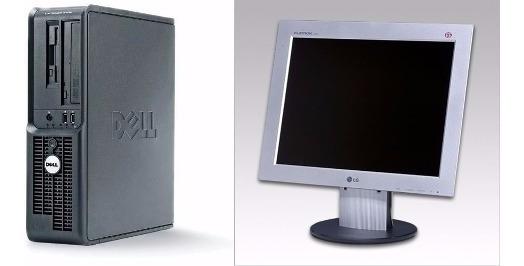 Computador Completo 2gb Hd 80gb + Monitor 15
