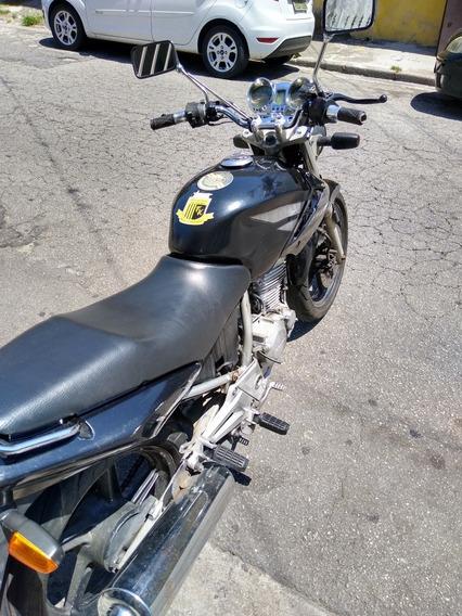 Honda Cbx Twister Preta