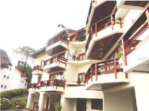 Imagem 1 de 21 de 4121 - Lindo Apartamento Com 3 Suites No Morro Do Elefante - Campos Do Jordão - 4121