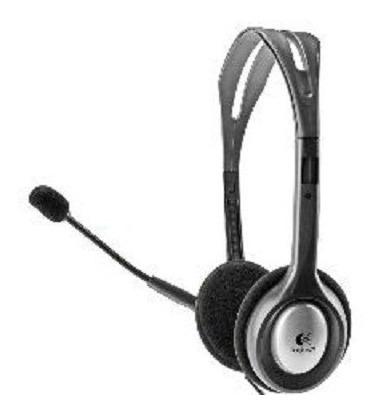 Fone Headset H110 Logitech