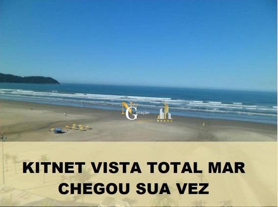 Kitnet Com 1 Dormitório À Venda, 35 M² Por R$ 135.000 - Vila Guilhermina - Praia Grande/sp - Kn0197
