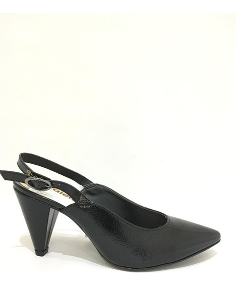 Zapatos Azaleia- Verniz