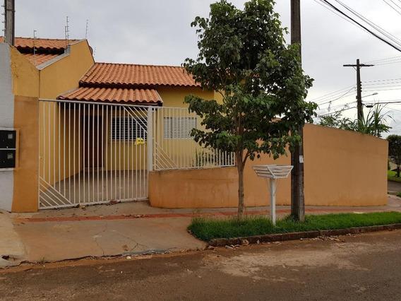 Casa Com 2 Dormitórios Para Alugar Por R$ 700/mês - Jardim Paris - Londrina/pr - Ca0395