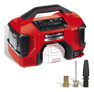 Mini Compresor Portatil Bateria 18v Y 220v Presitto Einhell