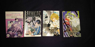Historietas Manga Varios ,oferta! Cuatro Por$