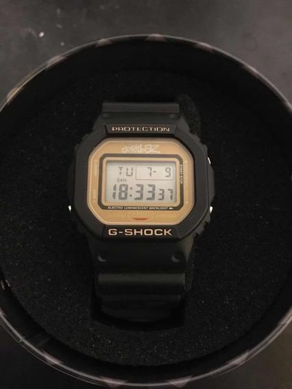 Lindo Relógio G-shock Gorillaz 2-d