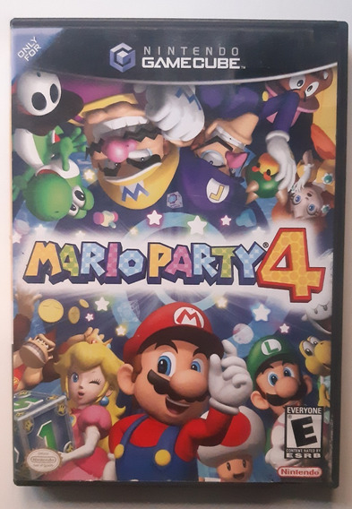 Mario Party 4 - Nintendo Gamecube - Americano - Completo
