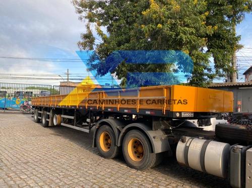 Carreta Vanderleia Randon 15m | Lock Container | 2012