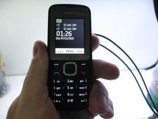 Celular Nokia C2-00 Rm-704 Funcionando Não Acompanha Bateria