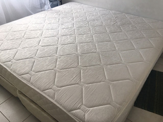 Colchon + Sommier Sealy King Size 2 X 2 Mts.