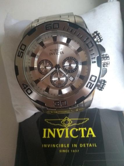 Relógio Invicta Original Com Caixa E Manual