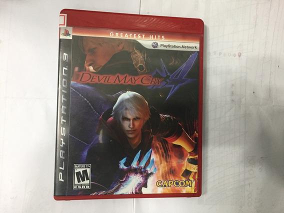 Devil May Cry 4 Ps3 Perfeito Estado! 10 Jogos Dessa Pratetel