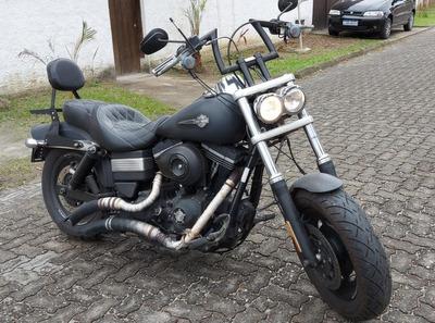 Harley Davidson Dyna Fat Bob Fxdf 2012 Customizada