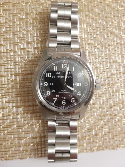 Relógio Hamilton Khaki Field Automático 42mm H70555533
