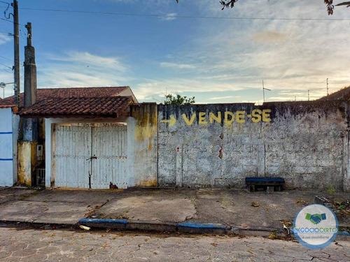 Casa Com 1 Dormitório À Venda, 80 M² Por R$ 265.000 - Recanto Dos Bandeirantes - Itanhaém/sp - Ca0605